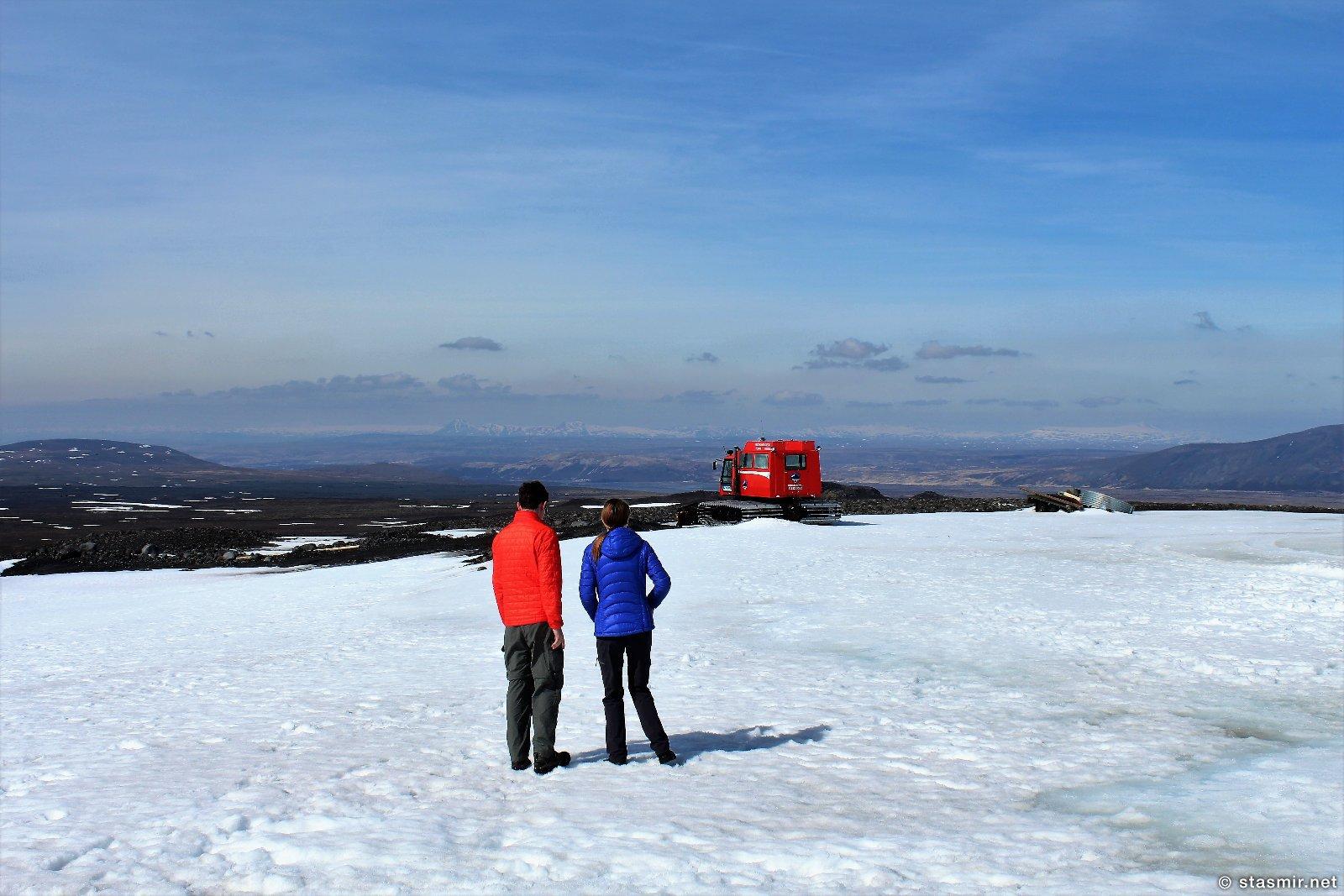 На леднике Лаунгйёкудль в солнечный день, фото Стасмир, Photo Stasmir