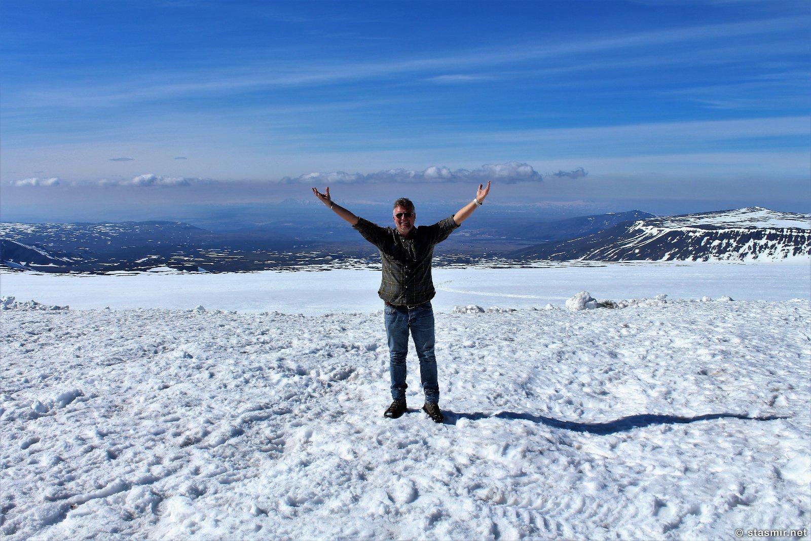 Сасмир на леднике Лаунгйёкудль, фото Стасмир, Photo Stasmir