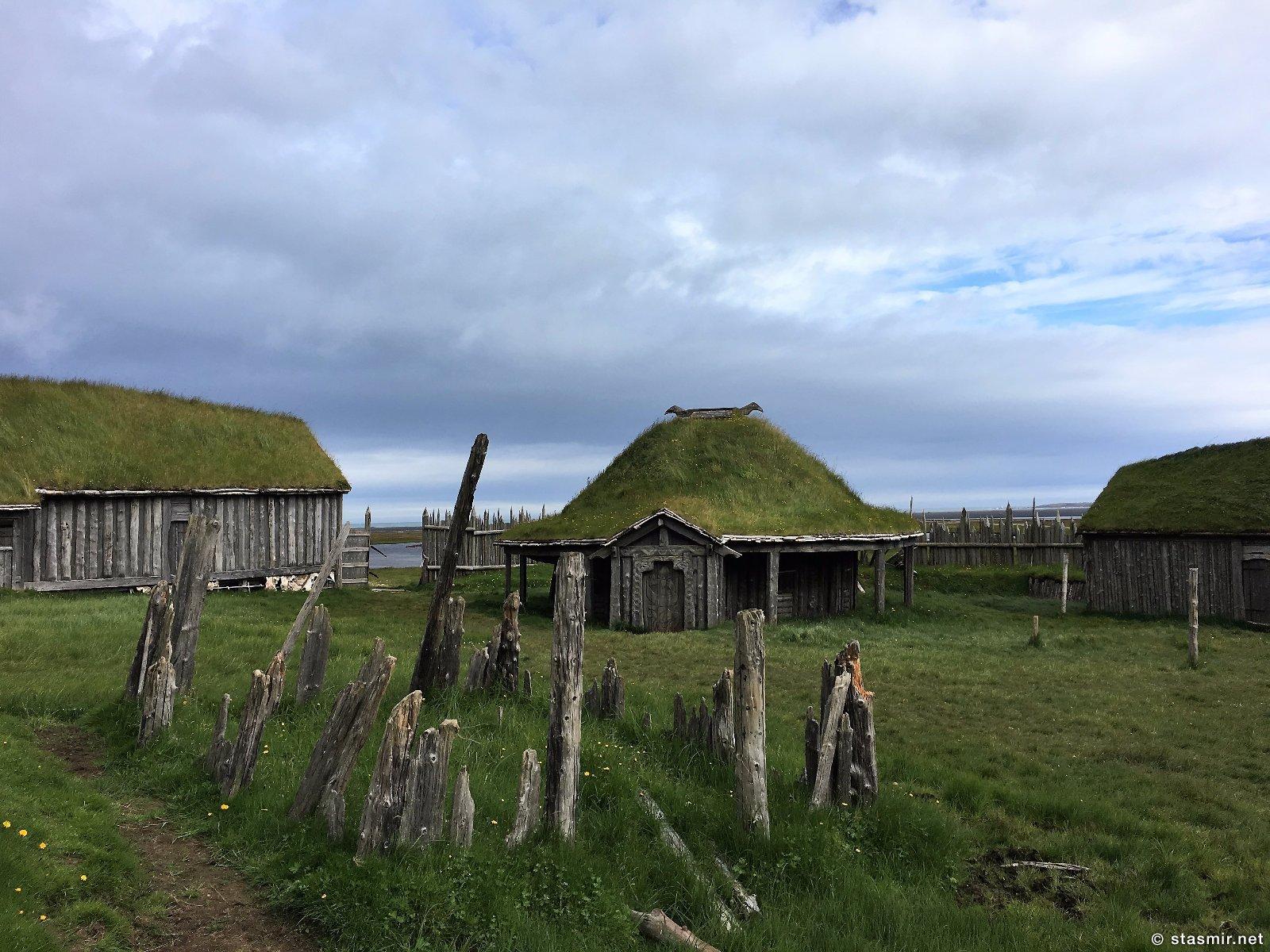 голливудская деревня викингов в Исландии, фото Стасмир, photo Stasmir, регион Восточная Исландия, муляж деревни викингов в Исландии