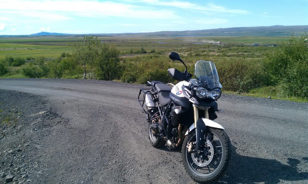 An Off-Road Shower for Biking Vikings. SergeiPetrov