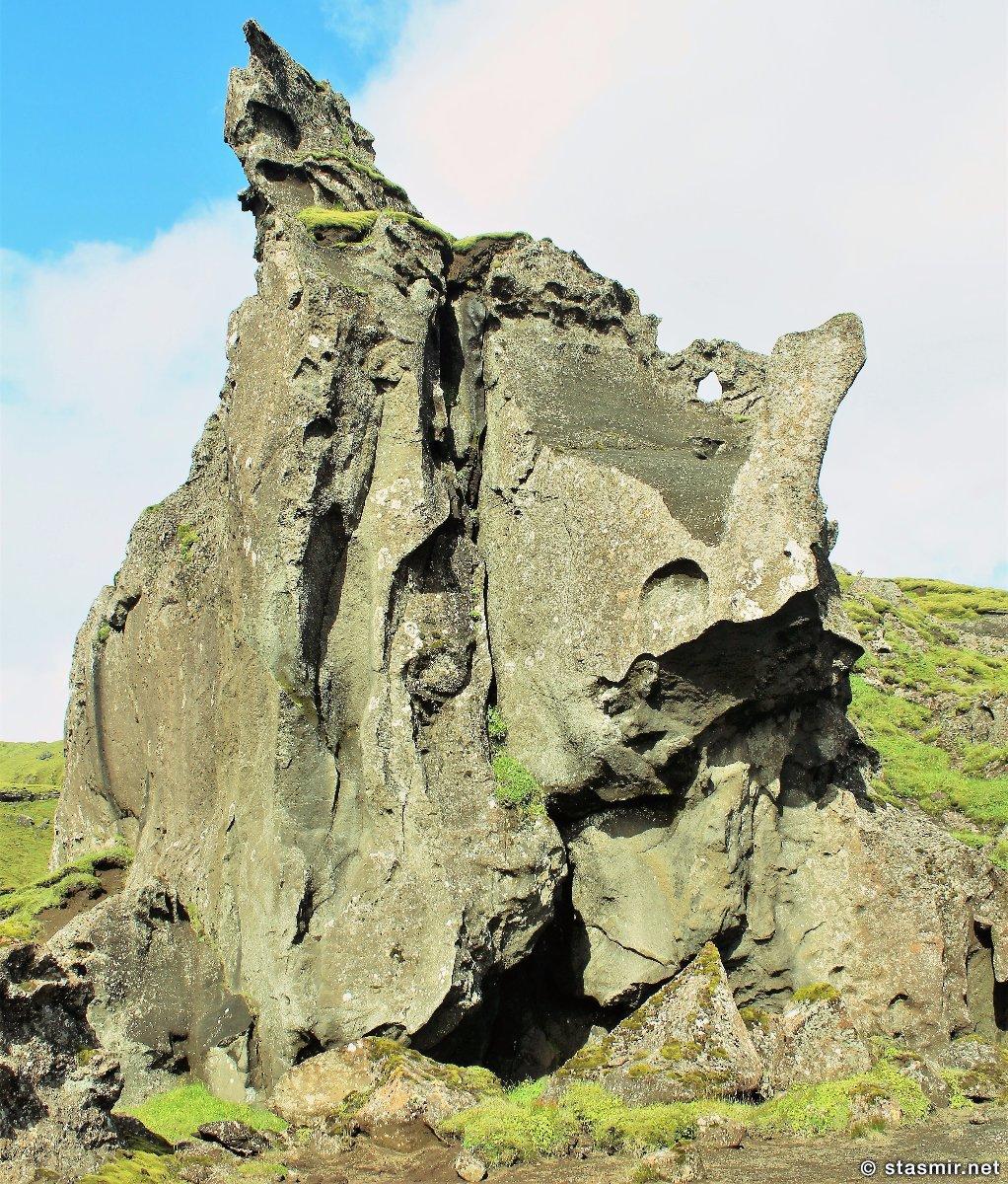 странные скальные образованя в Такгиле, Þakgíl, Тагил, фото Стасмир, photo Stasmir
