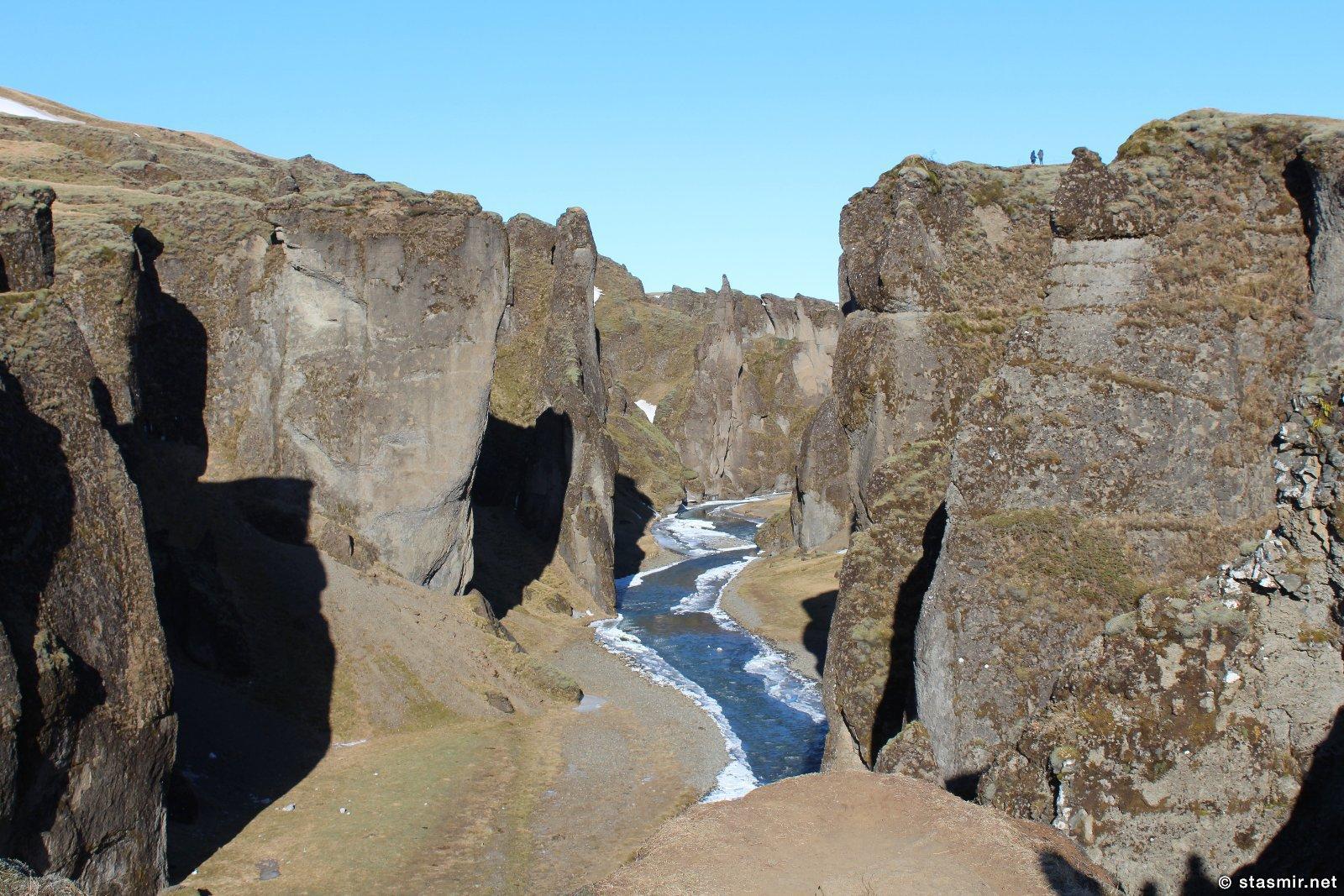 Зимняя Исландия, Fjaðrárgljúfur, photo Stasmir, фото Стасмир