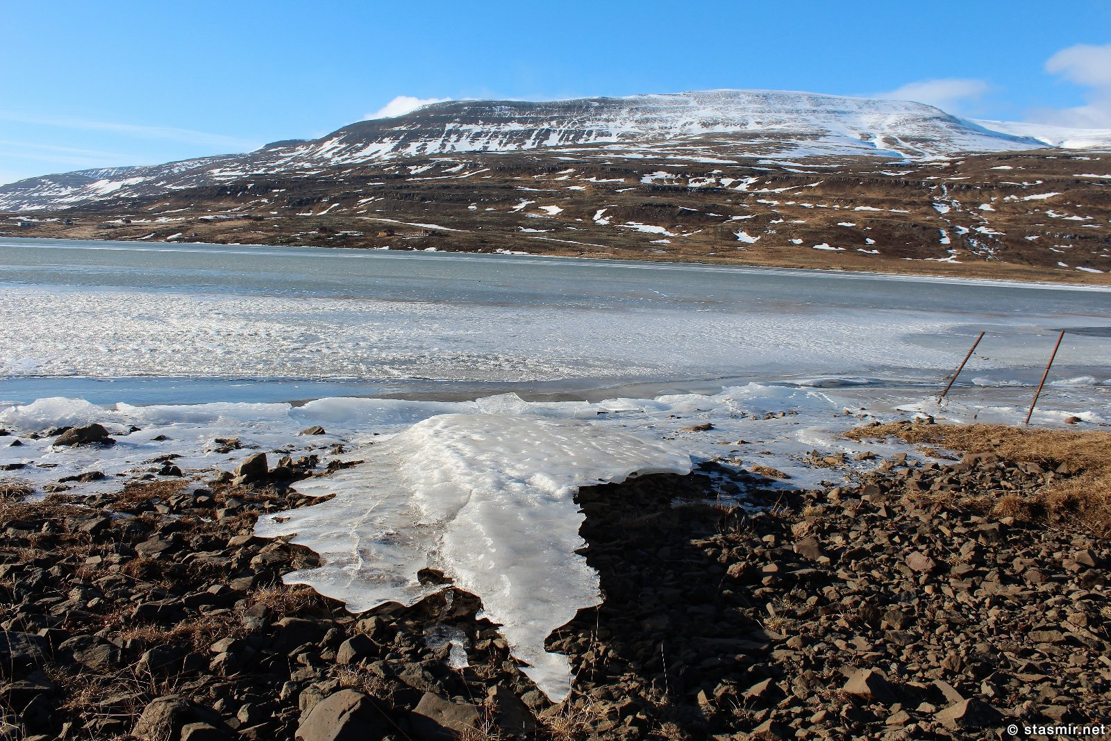 Зимняя Исландия: китовый фьорд, фото Стасмир, Photo Stasmir
