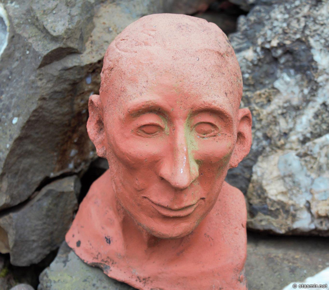 голова человека, фото Стасмир, photo Stasmir. Djúðivogur