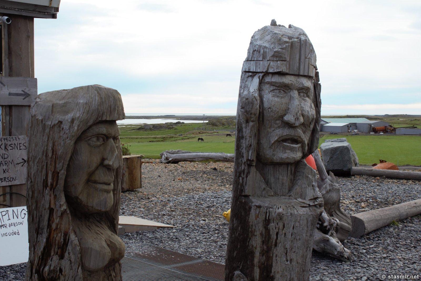 Викинги, восточная Исландия, Хортн, фото Стасмир, photo Stasmir