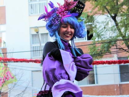 Фея на карнавале 2016 в Лоле, Алгарве, Португалия. фото Стасмир, photo Stasmir