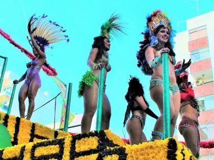 Феи на карнавале 2016 в Лоле, Алгарве, Португалия. фото Стасмир, photo Stasmir