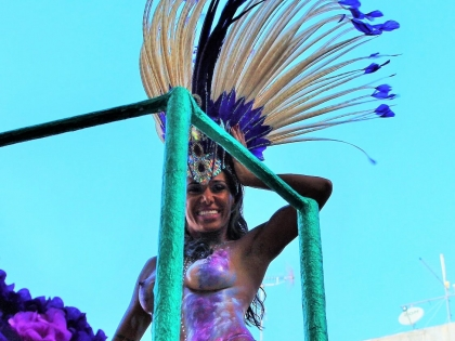 Красота на карнавале 2016 в Лоле, Алгарве, Португалия. фото Стасмир, photo Stasmir