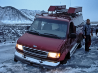 Ford Econoline E350 Stuck in Iceland