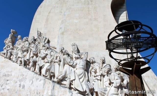 Памятник первооткрывателям в Белеме: Перу девятый спереди, но с обратной стороны. Фото Стасмир. Photo Stasmir