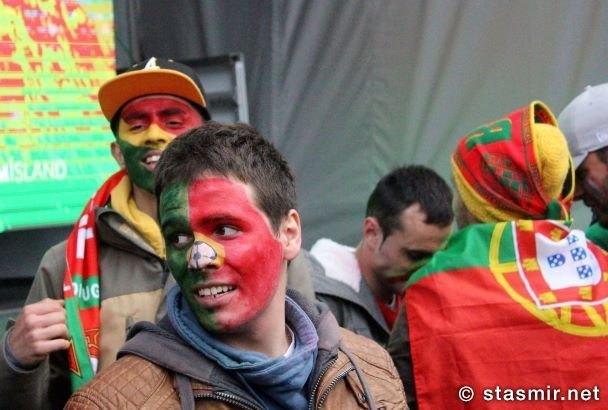 португальский болельщик в Рейкьявике, фото Стасмир, photo Stasmir