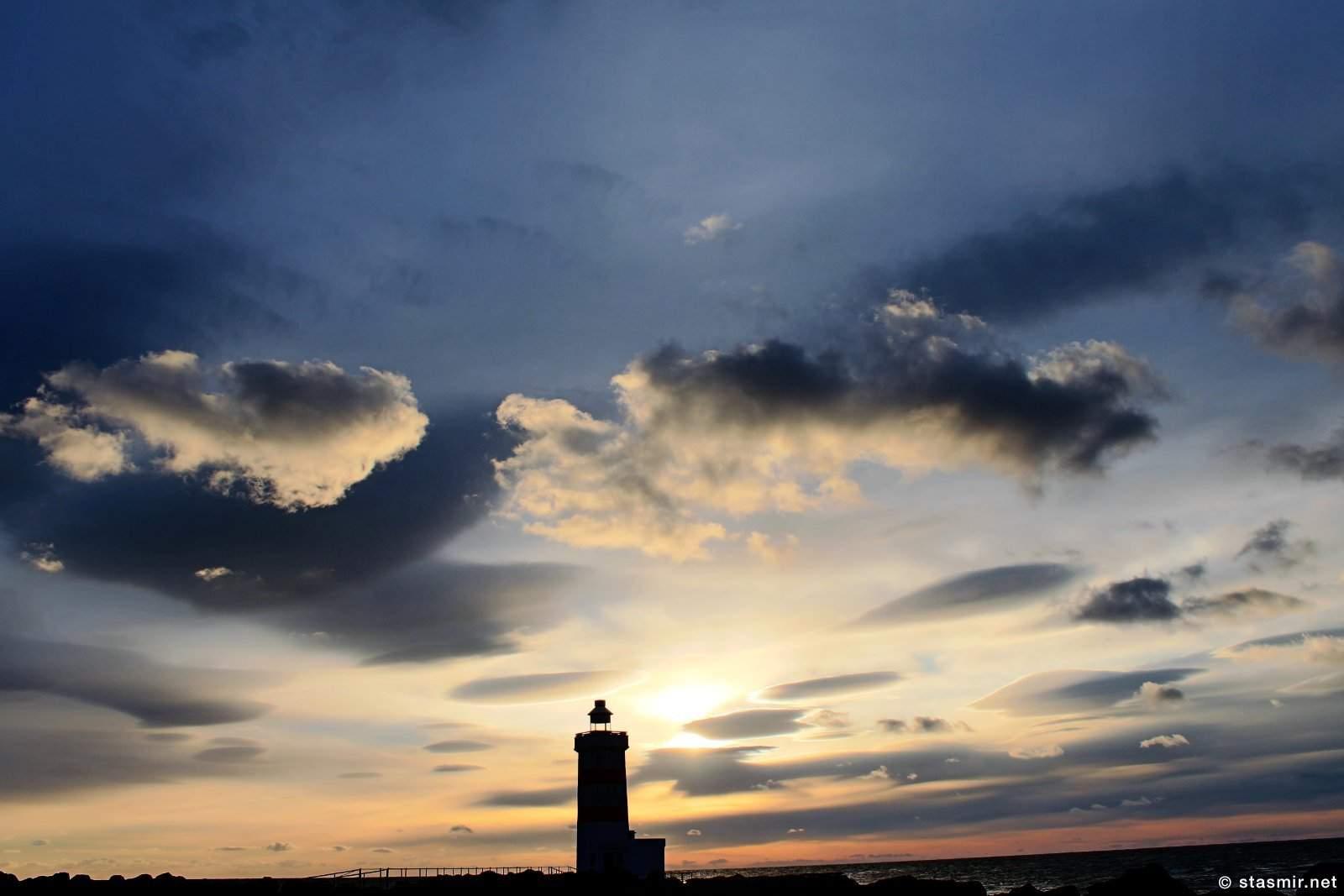 Старый маяк в деревушке Гардур, Южная Исландия, фото Стасмир, photo Stasmir