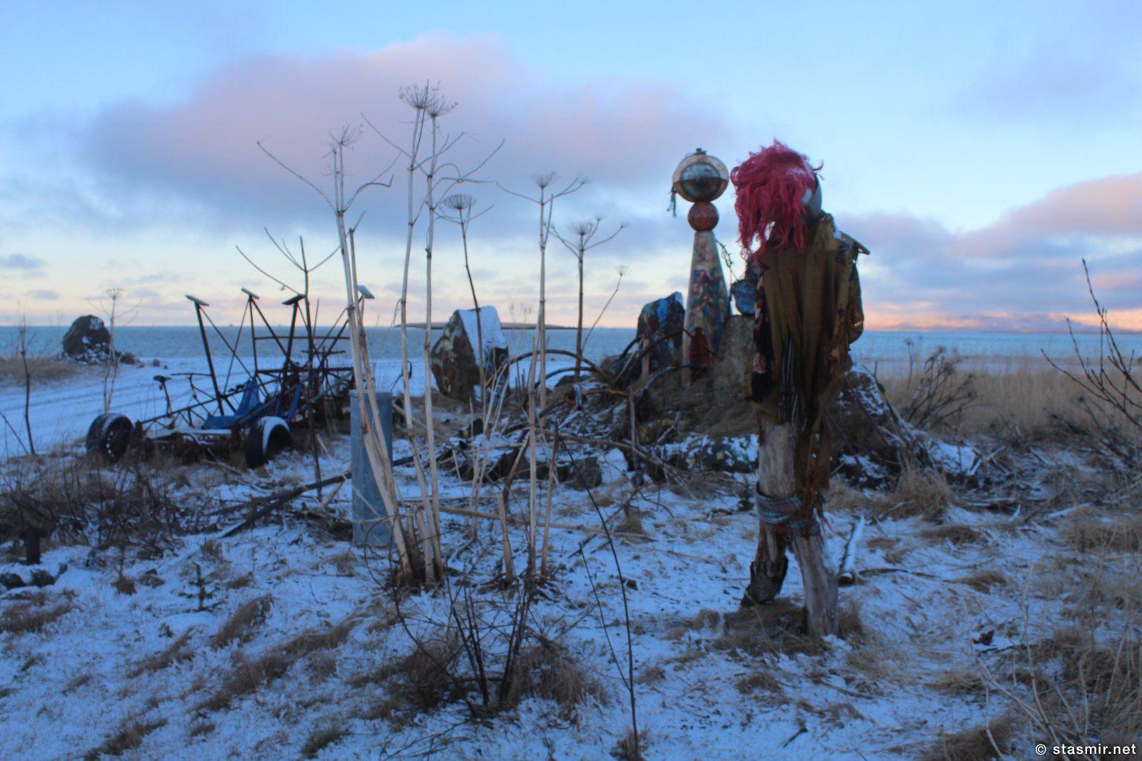 страшилки рядом с обиталищем режиссера Храпна Гюннлёйгссона в Рейкьявике, фото Стасмир, photo Stasmir