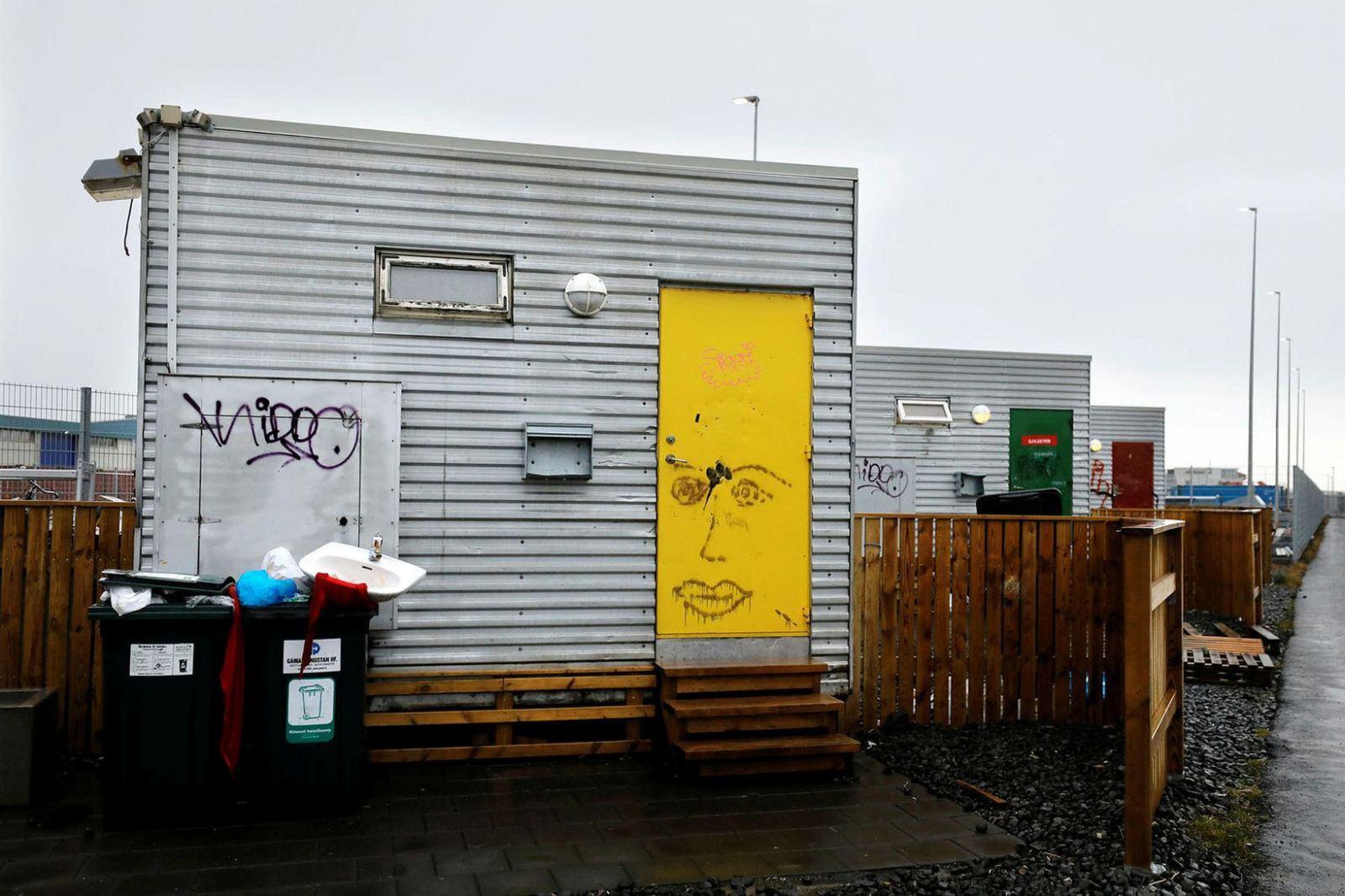 Муниципальные власти располагают небольшим количеством приютов для бездомных в Рейкьявике. В связи с пандемией коронавируса выделяются дополнительные средства на помощь бездомным. mbl.is/Eggert Jóhannesson