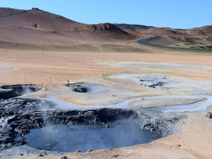 Námafjall, фумаролы в Северной исландии, Наумафьядль, фото Стасмир, Photo Stasmir, Брильянтовое кольцо Исландии