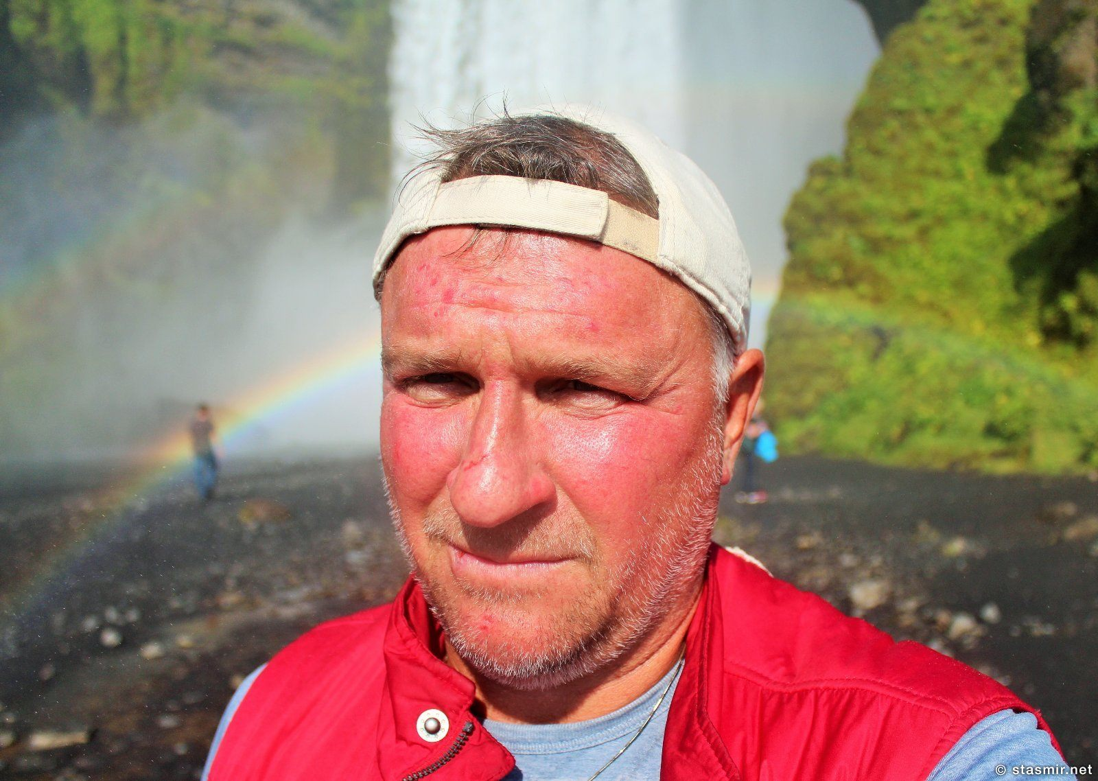фото Стасмир, водопад, Южный Берег Исландии