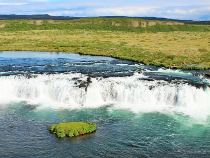 Факси - пороги на Золотом Кольце Исландии, фото Стасмир, Photo Stasmir