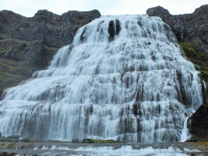 Водопад Диньянди, Западная Исландия, Вестюрланд, фото Стасмир, Photo Stasmit