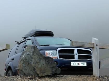Dodge Durango SU716 - не та машина, которую стоит арендовать в Исландии, фото Стасмир, Photo Stasmir