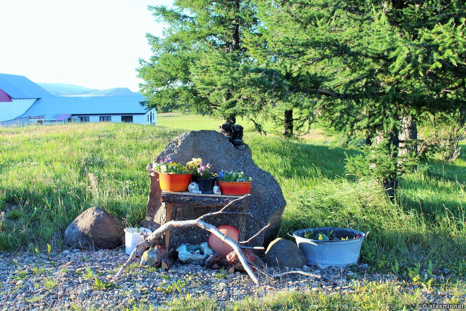на ферме Mjóanes, размещение в сельских домиках в Исландии, фото Стасмир, photo Stasmir, Восточная Исландия