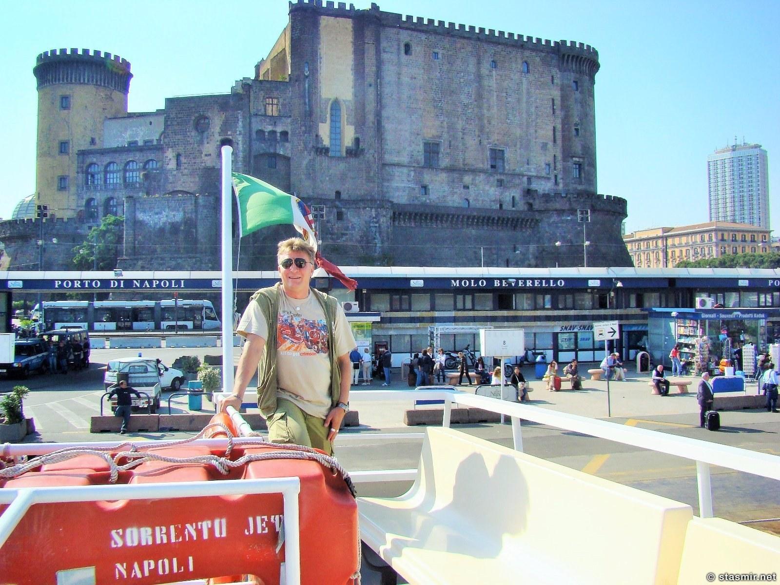порт Неаполя - пароходик на Капри, фото Стасмир, Photo Stasmir