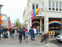 Лейгавегур, Laugavegur, Рейкьявик, пешеходная улица Рейкьявика, главная улица Исландии, гей-прайд в Исландии, геи в Исландии, Солон Исланд, бары Рейкьявика, Photo Stasmir