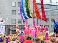 Гей-прайд 2015, Рейкьявик, знаменитые геи, Пауль Оскар, поп-звезда, исландские поп-звезды, гей парад, Рейкьявик, ладья, викинг, викинги нетрадиционной ориентации, розовые викинги, праздники в Исландии, гей парад в Исландии, Photo Stasmir