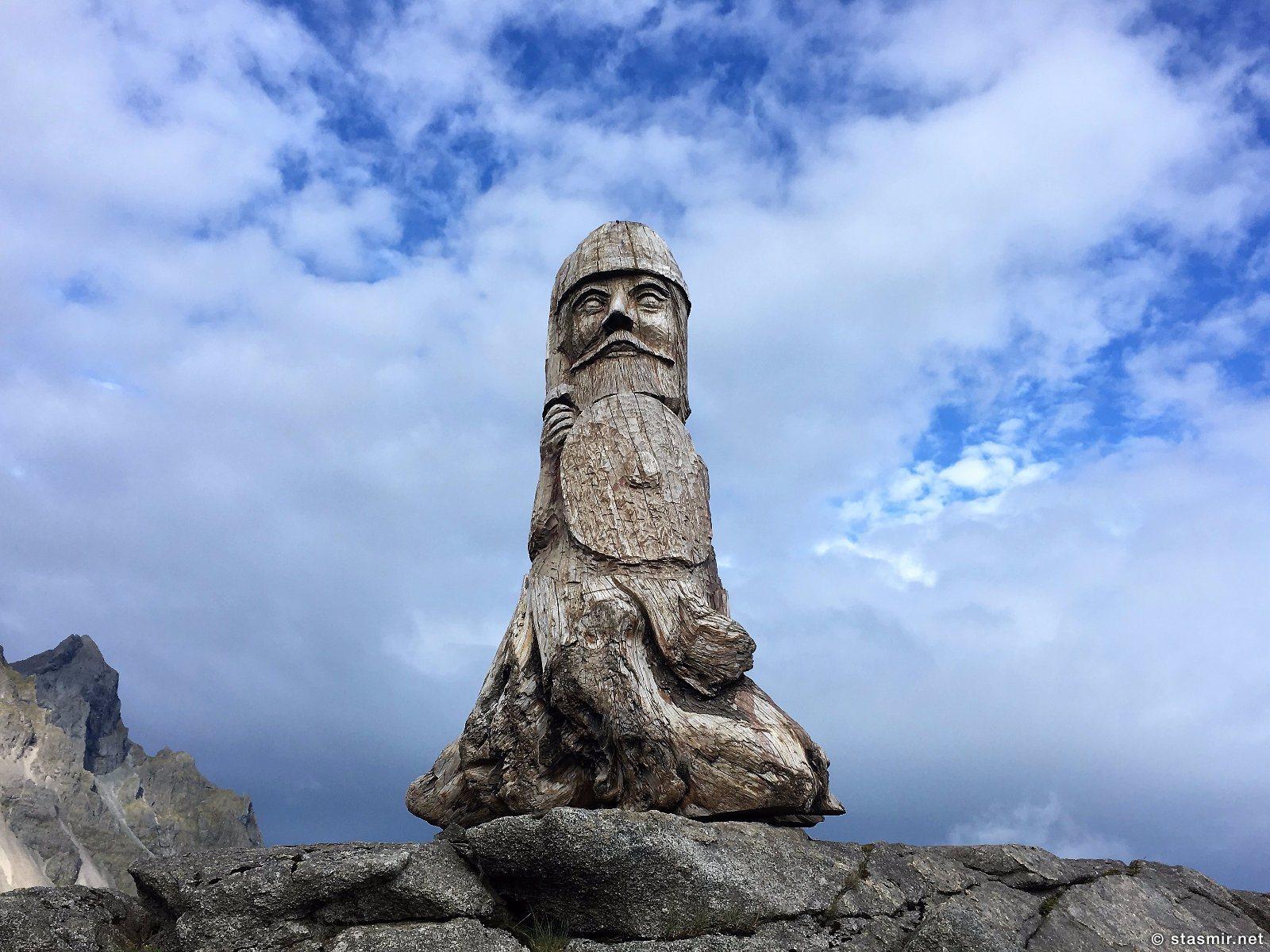 идол в деревне викингов в Исландии, фото Стасмир, photo Stasmir, сет деревни викингов дляя съемок голливудского фильма