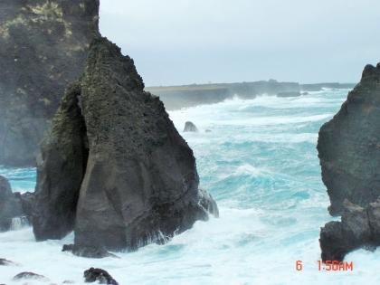 скалы и Атлантический Океан в Исландии, Reykjanes, Valahnúkur, Полуостров Рейкьянес, Валахньюкюр, Photo Stasmir, Фото Стасмир