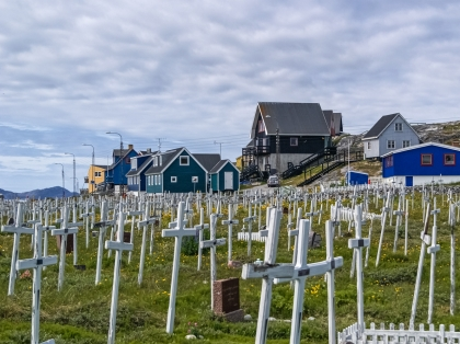 Гренландия, Greenland, Нуук, Nuuk, кладбище
