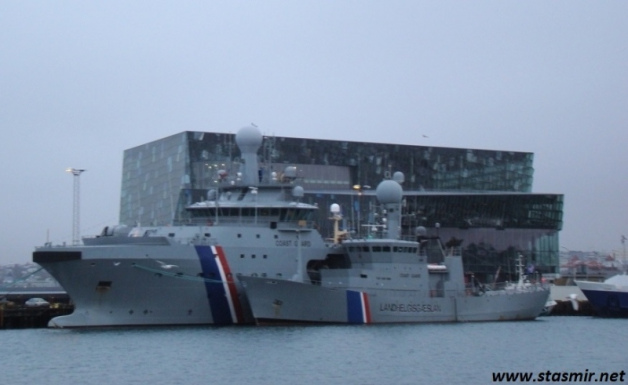 harpa and coast guard