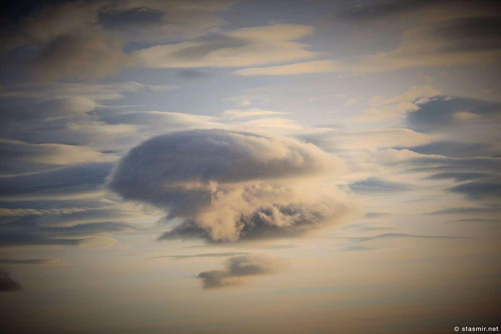облако в форме медузы, на дороге из Хусафетль, фото Стасмир, photo Stasmir