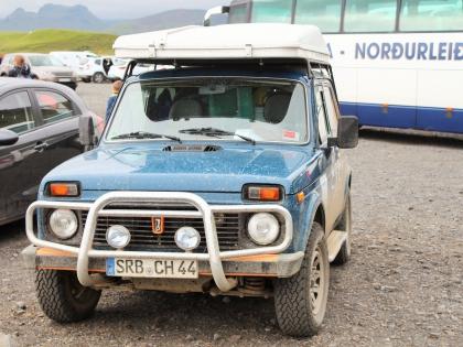 немецкая Нива в Исландии, Южный Берег, фото Стасмир, Photo Stasmir