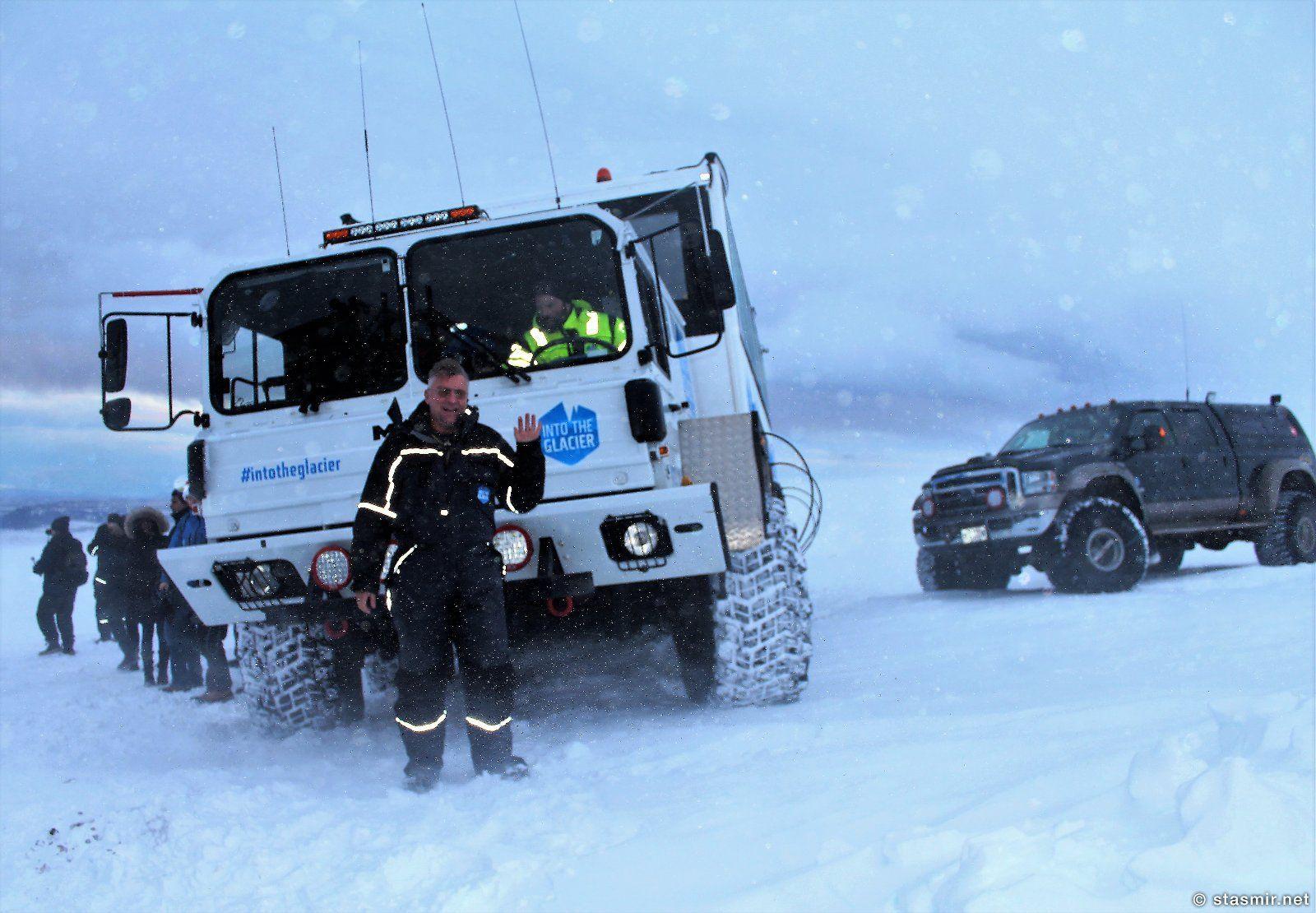 супергрузовик МАН в Исландии, фотографии тура Into the Glacier, photo Stasmir, фото Стасмир