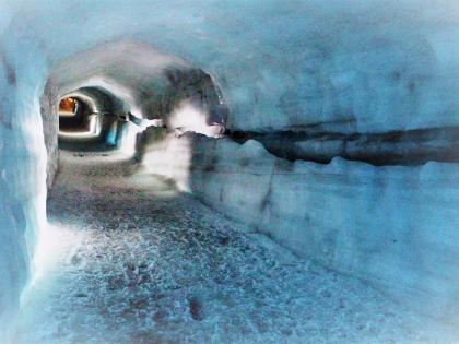 Внутри ледника Лаунгйёкудль, фотографии тура into the glacier, photo Stasmir