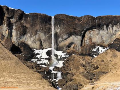 водопады - южная исландия. Начало ледника. Фото Стасмир, photo Stasmir