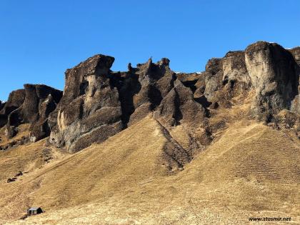 скалы - Южная Исландия. Фото Стасмир. Photo Stasmir