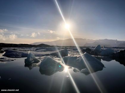 Йёкюльсаурлоун - ледниковая лагуна. Фото Стасмир. Photo Stasmir