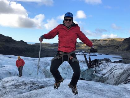 На леднике на Юге Исландии, Фото Стасмир, photo Stasmir