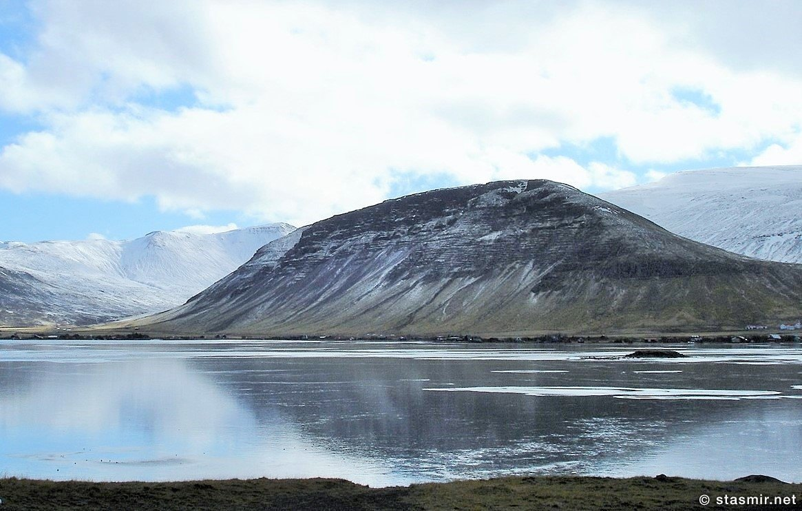 Miðdalur, Борганес зимой, фото Стасмир, Photo Stasmir