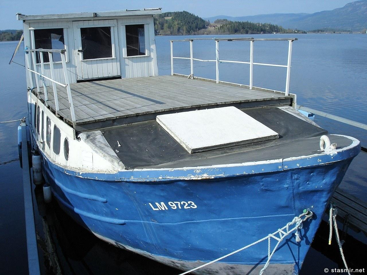 лодка в Tyrifjorden, Норвегия, фото Стасмир, Photo Stasmir