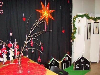 Исландская ферма в праздничном рождественского убранстве, фото Стасмир, Photo Stasmir
