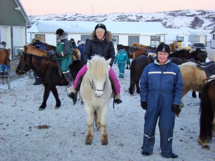 зимнее катание на исландских лошадях, фото Стасмир, photo Stasmir