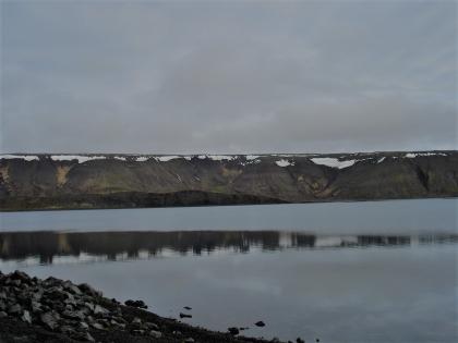 Зима на берегах безлюдного острова Клейварватн, фото Стасмир, photo Stasmir