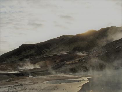 геотермальное плато Крисувик, фото стасмир, photo Stasmir, фумаролы Крисувика