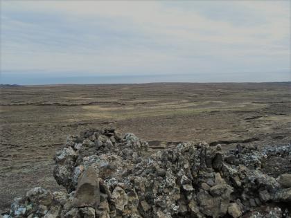 Таинственные лавовые формации на полуострове Рейкьянес, фото Стасмир, photo Stasmir