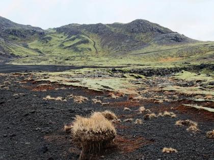Vigdísarvallavegur - совершенно безлюдная дорога на безлюдном полуострове Рейкьянес в Южной Исландии, фото Стасир, Photo Stasmir