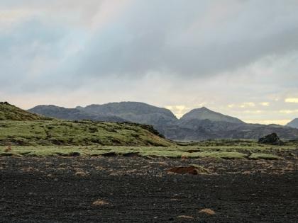 лава вдоль Vigdísarvallavegur - безлюдной дороги на полуострове Рейкьянес, фото Стасир, Photo Stasmir