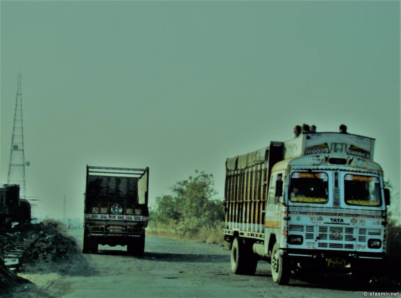 дороги штата Махараштра, Индия, Фото Стасмир, photo Stasmir