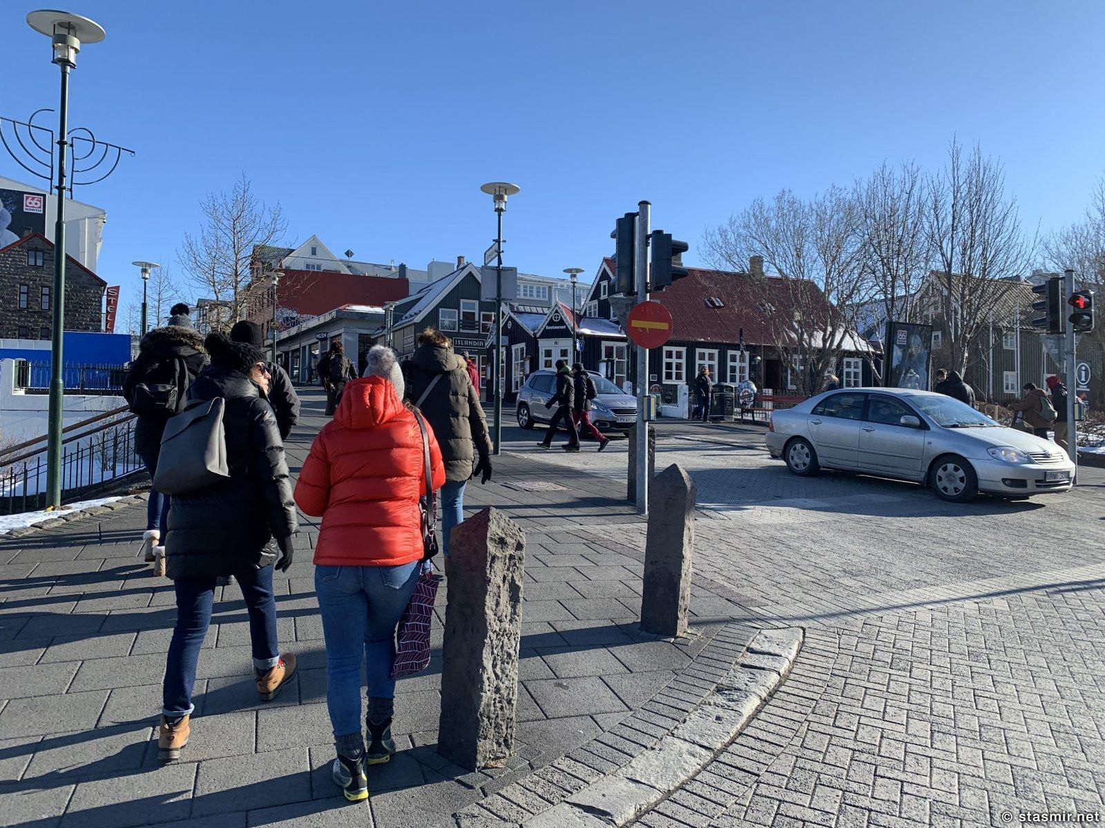 улицы Рейкьявика полны туристами в разгар эпидемии коронавируса, фото Стамир, photo Stasmir